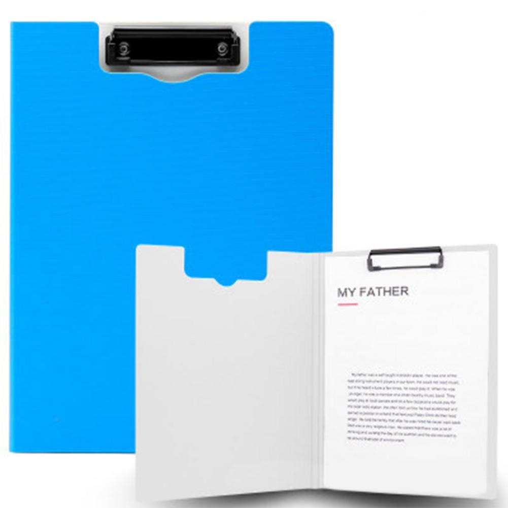 File Folder Document Clipboard Foam Board Clip A4 Size Writing Board Folding Folder Business Conference Office School Test Field