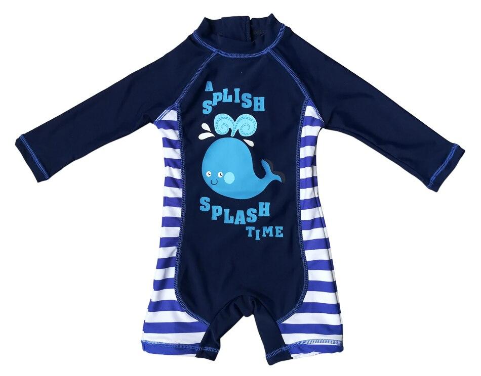 Bonverano(TM) Toddler Boys' Swimsuit Sunsuit UPF 50+ UV Protection L/S Zipper One Piece Swimwear Rashguard sbart upf50 rashguard 2 bodyboard 1006