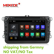 free shipping Android 7.1 2GB RAM Car DVD Player for VW Golf mk6 5 Polo Jetta Tiguan Passat B6 5 cc for skodao ctavia fabia