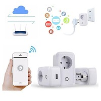 Wifi Cell Phone Switch Timer Smart Home Automation Power Socket EU Plug