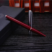 Xiaoyuer High Quality Nice Gift Packing Hero 100 Red Color Fountain Ink Pen Office Executive Fast