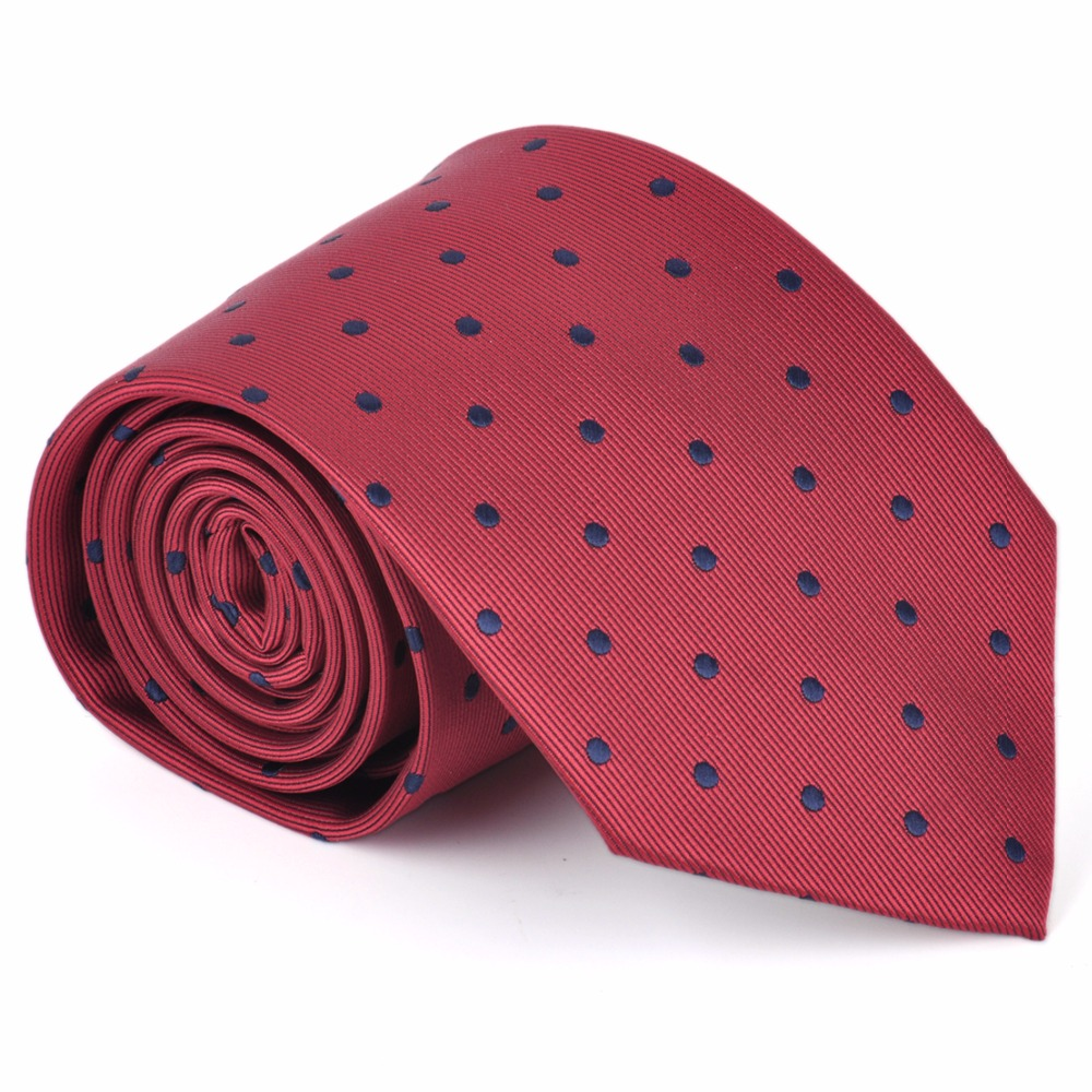 ciciTree New 8.5cm 2017 Fashion Big/Little Polka Dot Men Tie Jacquard Neckties for Formal Business Wedding father Mens Ties