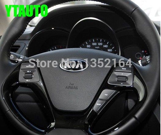 Original multifunctional steering wheel control button for KIA RIO K2 2015 2016 , Audio and channel control button