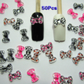 Best Sale Nail Art 3d 50 Mix Print BOW /RHInESTONE For Nails, CellPhones