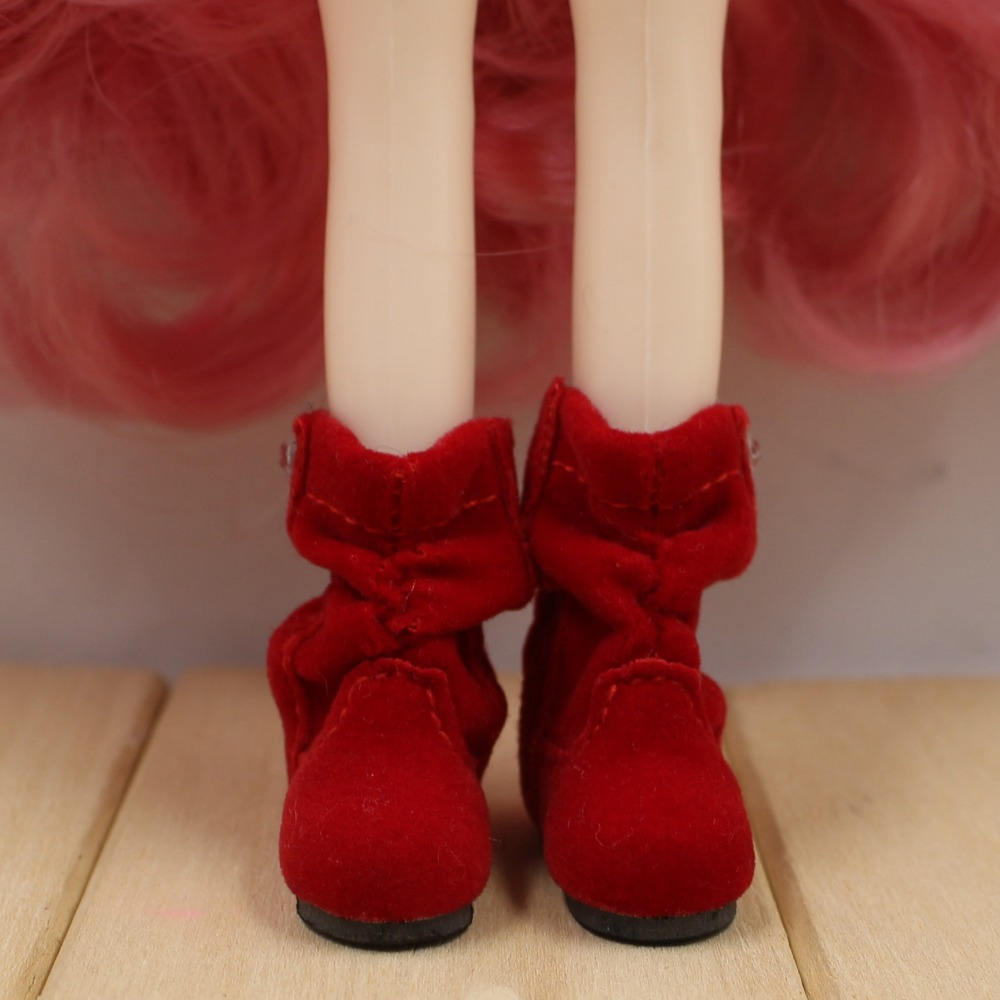 Neo Blythe Doll Soft Boots with Crystal 3