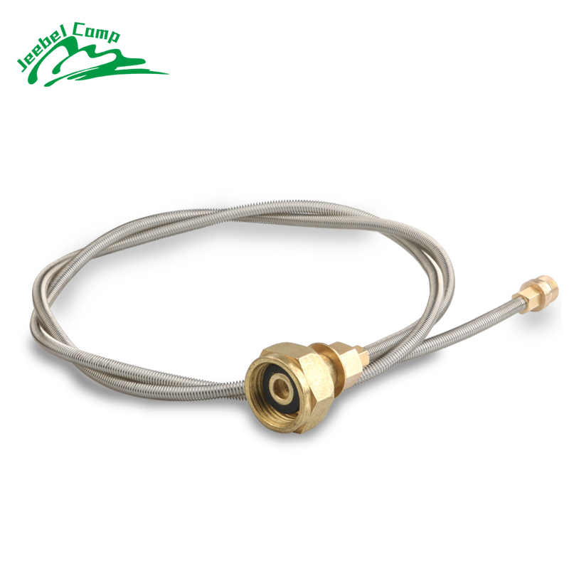 Outdoor Camping Stove Use Household LPG Cylinder Gas Tank Conversion Head Adapter