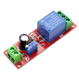 NE555 0 ~ 10 S Timer Switch Adjustable Module DC 12 V Delay Relay Shield