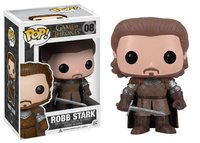 Exclusive FUNKO POP Official Movies: Game of Thrones Robb Stark Limited Edition Vinyl Action Figure Collectible Model Toy