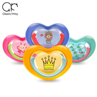 2017 Baby Pacifier Baby Feeding Safe Food Grade 0 6 Month Cute Sleep Silicone Nipple Infant