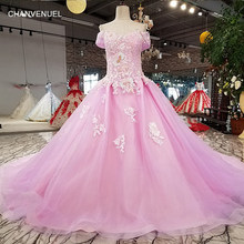 LSX83219 lilac ball gown shiny evening dress with glitter off shoulder  sweetheart girls dress for party with train as photo 2018 bcdb750672d7