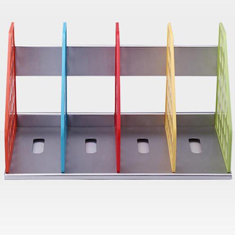 Diy Plastic Bookend Office File Doent Tray Holder Multifunction Magazine Rack Desk Shelf Storage Shelves Papelaria In Folder From