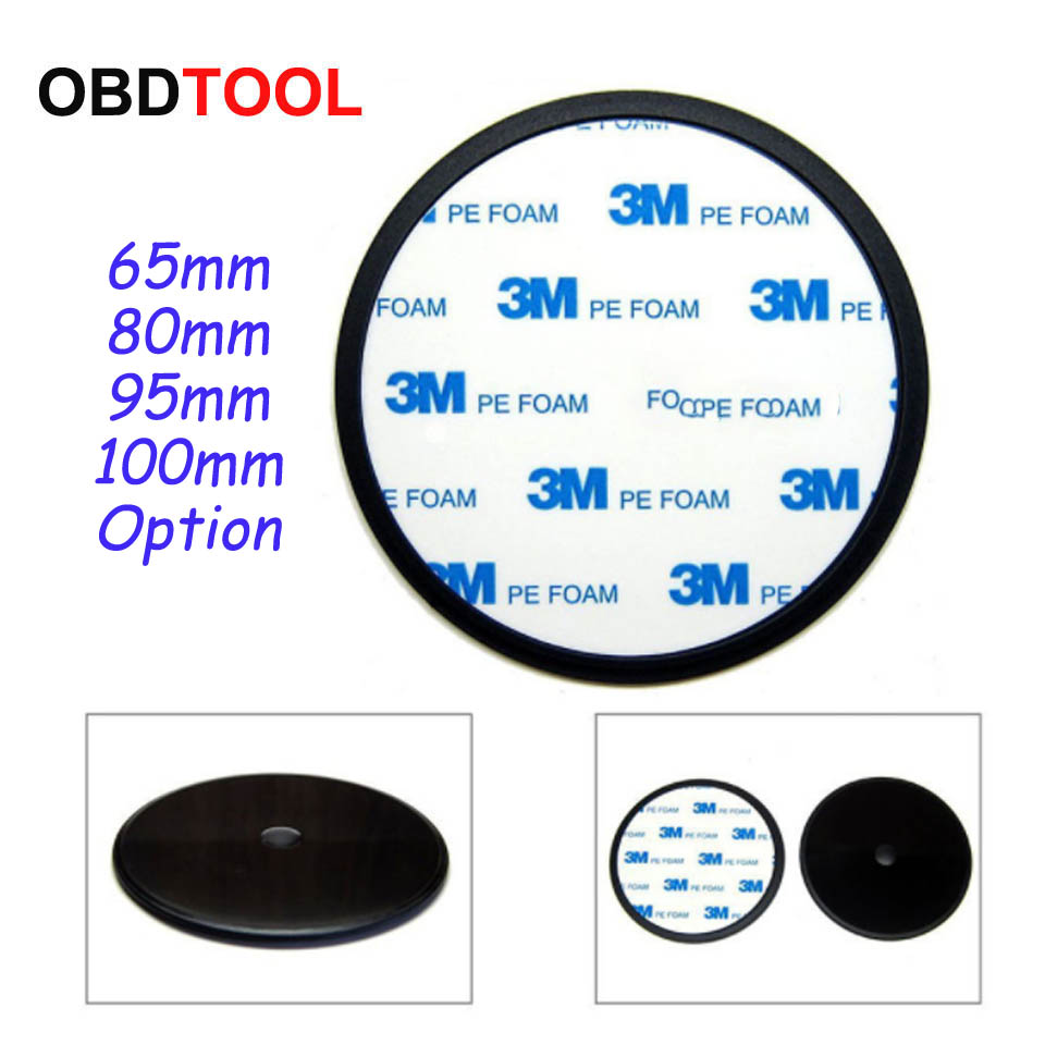Popular Universal 3m Adhesive Car Dash Camera Mount Pad Suction Cup Bracket Base Of Car Central Console Dashboard For DVR GPS