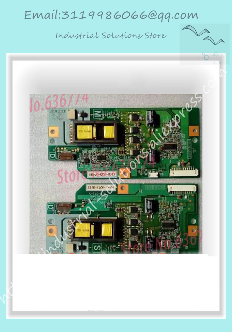 Original TLM32E29 TLM3201 pressure plate backlight HIU-812-M HIU-812-S HPC-1654E 2pcs/SET tesed 90% new used hpc 1654e hiu 812 m hiu 812 s board 32av500u one pair working good