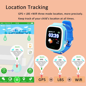 Image 4 - TWOX GPS Q90 WIFI Positioning Smart Watch Children SOS Call Location Finder Device Tracker Kid Safe Anti Lost Monitor PK Q50 Q80