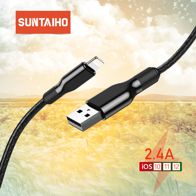 Suntaiho Usb-Cable iPhone-Charger Wire Data 8-Plus for X XS Max-Sync 6s 7