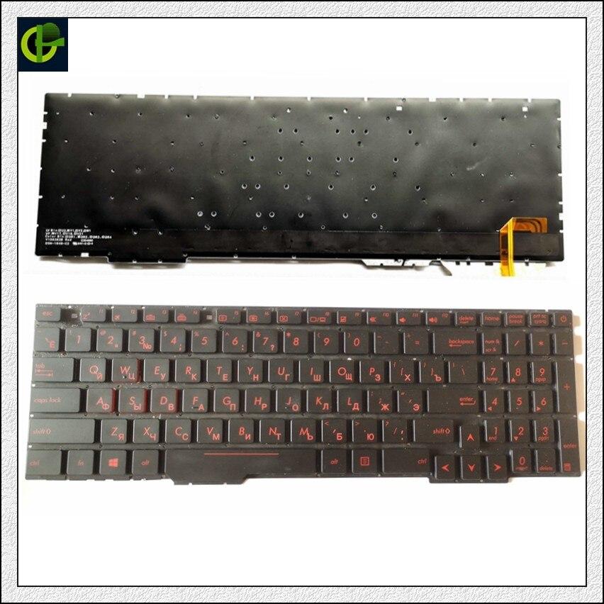 Russian Backlit keyboard for Asus Rog GL553VD GL553VE GL553VW GL753 GL753V GL753VE GL753VD ZX53V ZX53VD ZX53VE ZX53EW ZX53VW RURussian Backlit keyboard for Asus Rog GL553VD GL553VE GL553VW GL753 GL753V GL753VE GL753VD ZX53V ZX53VD ZX53VE ZX53EW ZX53VW RU