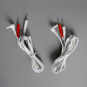 Image 5 - Jack de substituição dc head 2.35mm, cabos do conector de eletrodo da unidade dezenas fios de chumbo