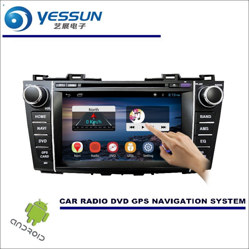 YESSUN For Mazda 5 5 / Premacy 2010~2016 Car DVD Player GPS Navi Navigation Android System Radio Stereo Audio Video Multimedia