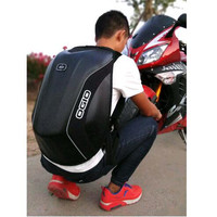 OGIO Mach 5 carbon fiber mach 3 fashion Powerful storage travel helmet Motorcycle motocross riding racing bag backpack KAWASAKI