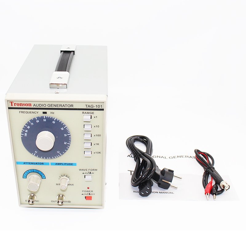 220V/110V TAG-101 Low Frequency audio signal generator Signal Source 10 Hz-1 MHz Y 10hz 1mhz low frequency function signal audio generator producer rek rag101