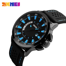 SKMEI 2017 Men Quartz Watch Waterproof Silicone Strap Brand Fashion Sports Watches Man Date Wristwatches Relogio Masculino skmei sport quartz watches men causal fashion watch leather strap waterproof date wristwatches male relogio masculino wristwatch