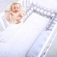 Baby Room Newborn Baby Bed Cot Bed Roll Animal Design Cotton Cushion Nursery Crib Snake Pillow Kids Sleep Bumper Decoration