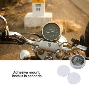 Houkiper универсальные мотоциклетные часы аксессуары часы водонепроницаемый палка-на кронштейн для мотоцикла цифровые часы мото часы для BMW часы