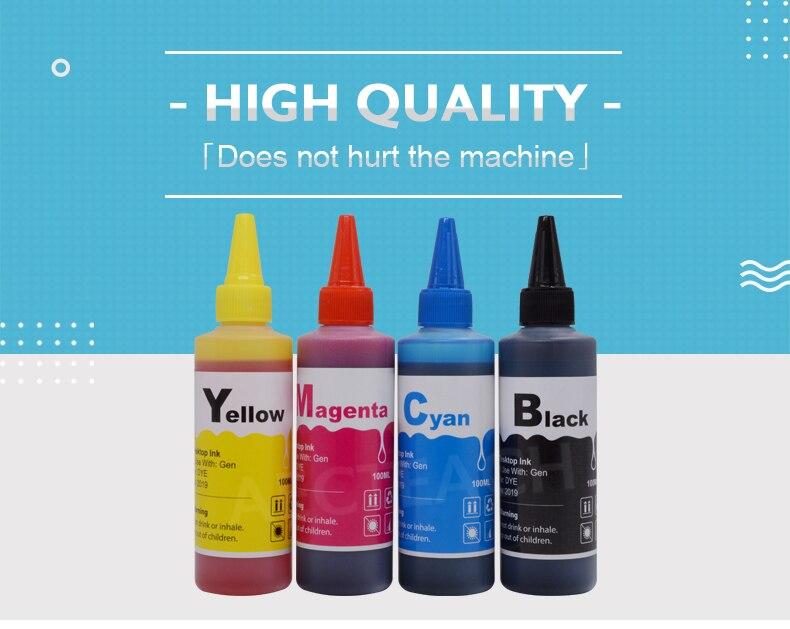 Aecteach kit de recarga universal de tinta