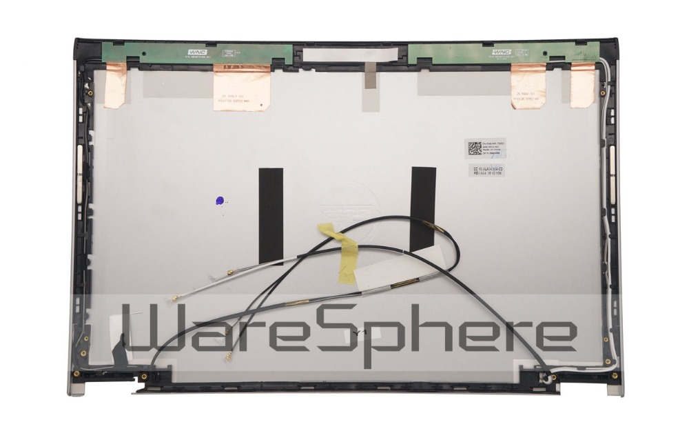 A- Original LCD Rear Back Cover W/ 4 Wireless Antenna Wires for Dell Latitude 3330 Vostro 131 0N6VWR N6VWR 60.4LA04.004 Silver new lcd back cover for dell inspiron 15u 5000 5555 5558 5559 v3558 v3559 vostro 355 a shell ap15a000510 ap1g9000300 silvery