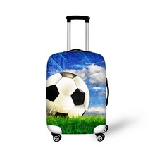Elastic Spandex Travel Luggage Protective Dust Cover Waterproof Printing Suitcase Cover for Travel High Luggage Accessories
