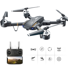 RC Drone GW58 Foldable Drones With Wide Angle Camera HD 720P FPV WIFI Quadrocopter 6CH Hover Drones RC Helicopters Airplanes