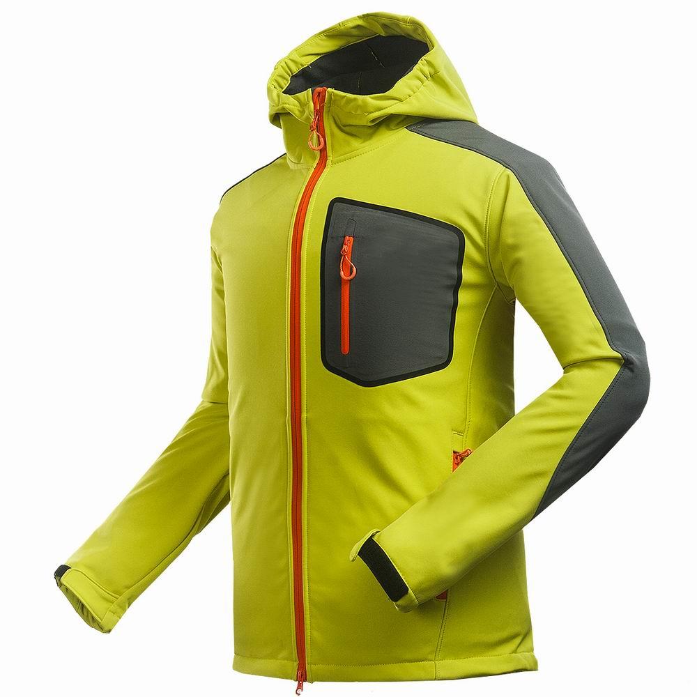 2018 Men Winter Autumn Fleece Soft Shell Jacket Camping Sports Coat Outdoor Ski Waterproof Waterproof Climbing Hiking Jacket