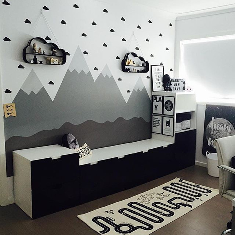Aliexpresscom Buy CM Vinyl Little Cloud Wall Stickers Wall - Vinyl stickers designaliexpresscombuy eyes new design vinyl wall stickers eye wall