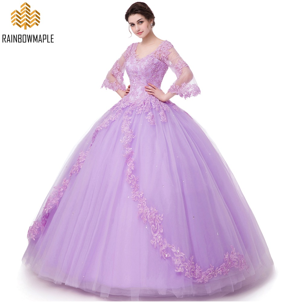Beautiful Princess Ball Gown Prom Dresses