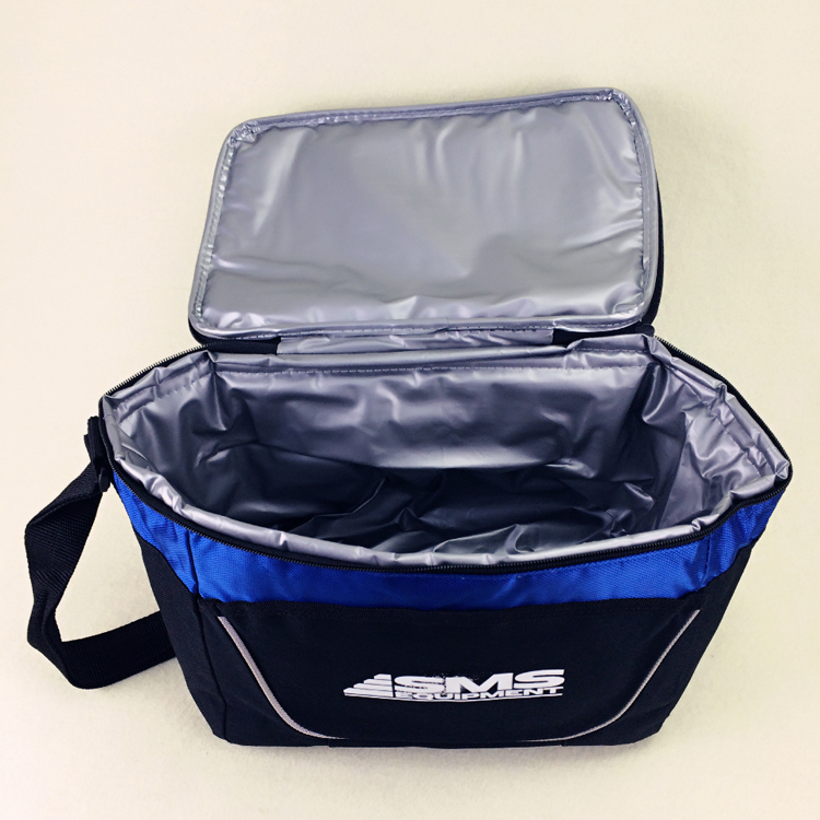 Doppelschichten Hohen qualität marke große thermische picknick kühltasche isoliert eis kühlen thermo lunchbox lagerung von lebensmitteln umhängetasche 9L