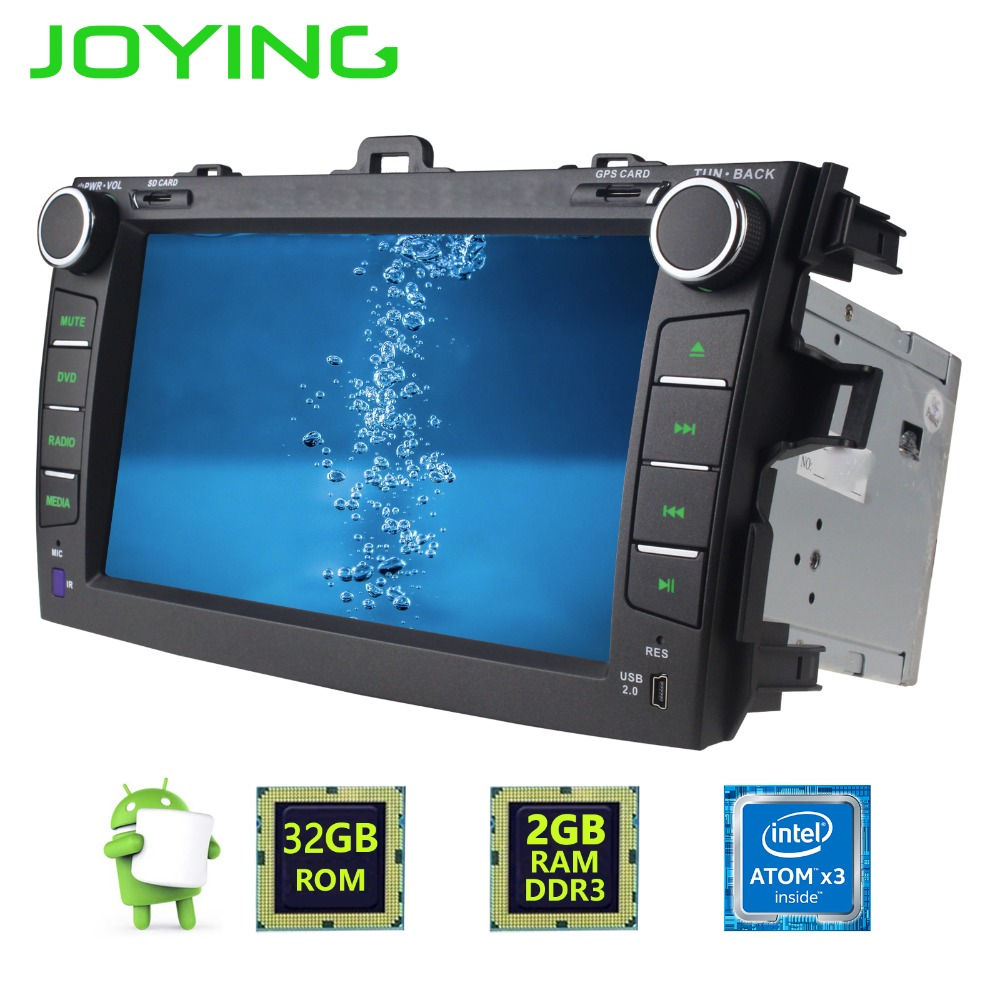 joying 8 double 2 din 1024 600 android 6 0 quad core gps. Black Bedroom Furniture Sets. Home Design Ideas