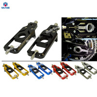 Waase Motorcycle Chain Adjusters Tensioners Catena For Yamaha YZF R1 R1S R1M 2015 2016 2017 MT