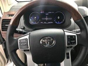 Image 3 - Panlelo tableau de bord avec cristal plein liquide, tableau de bord de remplacement 12.3 pouces, pour Toyota Prado SWC