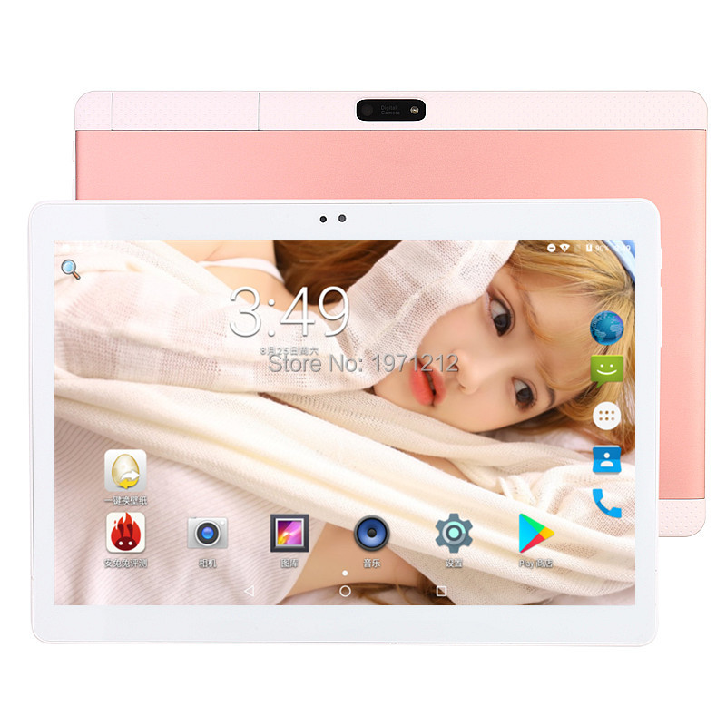 BOBARRY 10 Inch 3G 4G LTE Tablets Deca Core Android 7.0 RAM 4GB ROM 64GB Dual SIM Cards 1920*1200 IPS HD 10.1 Inch Tablet