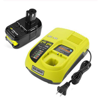Hot3A 12V 14.4V 18V For Ryobi P117 Rechargeable Battery Charger Battery Pack Power Tool Ni Cd Ni Mh Li Ion P110  P111  P107 P108|Chargers| |  -