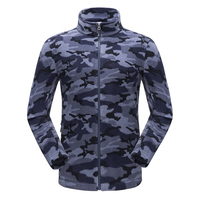 Tectop Camouflage jackets for mens Outdoor Sport spring Autumn hiking camping Windproof Polartec Anti static warm fleece jacket