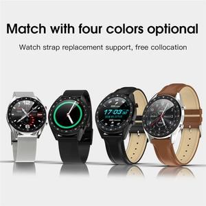 Image 5 - ASKMEER L7 IP68 防水スマート腕時計メンズスポーツスマートウォッチ ECG + PPG 心拍数血圧モニター腕時計 Ios アンドロイド