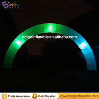 Color Changing Inflatable Led Lighting Arch / 6*3m Led Light Wedding Arches / Cheap Inflatable Archway for sale