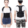 Unisex Adjustable Babaka Back Posture Corrector Brace Black Back Shoulder Support Belt Posture Correction Belts for Men Women