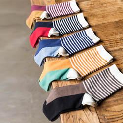 10 пар/лот новинка 2016 мужчины в трубке мужчин Носки модные носки в полоску, оптовая продажа