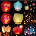 Nuevo 10 unids SKY Kong Ming Globos Balao de Halloween Lanterns Que Deseen Volar Luz de Halloween Chino Linterna del Cielo globo de Aire