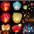 new 10pcs Halloween Balao SKY Kong Ming Balloons Wishing Lanterns Flying Light Halloween Chinese Sky Lantern Air balloon