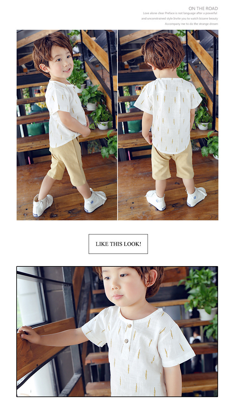 2019 New Kids Clothes Spring Boys Clothing Sets T Shirt + Shorts Toddler Boys Clothing Baby Boy Fluid Systems Clothes Brand 34
