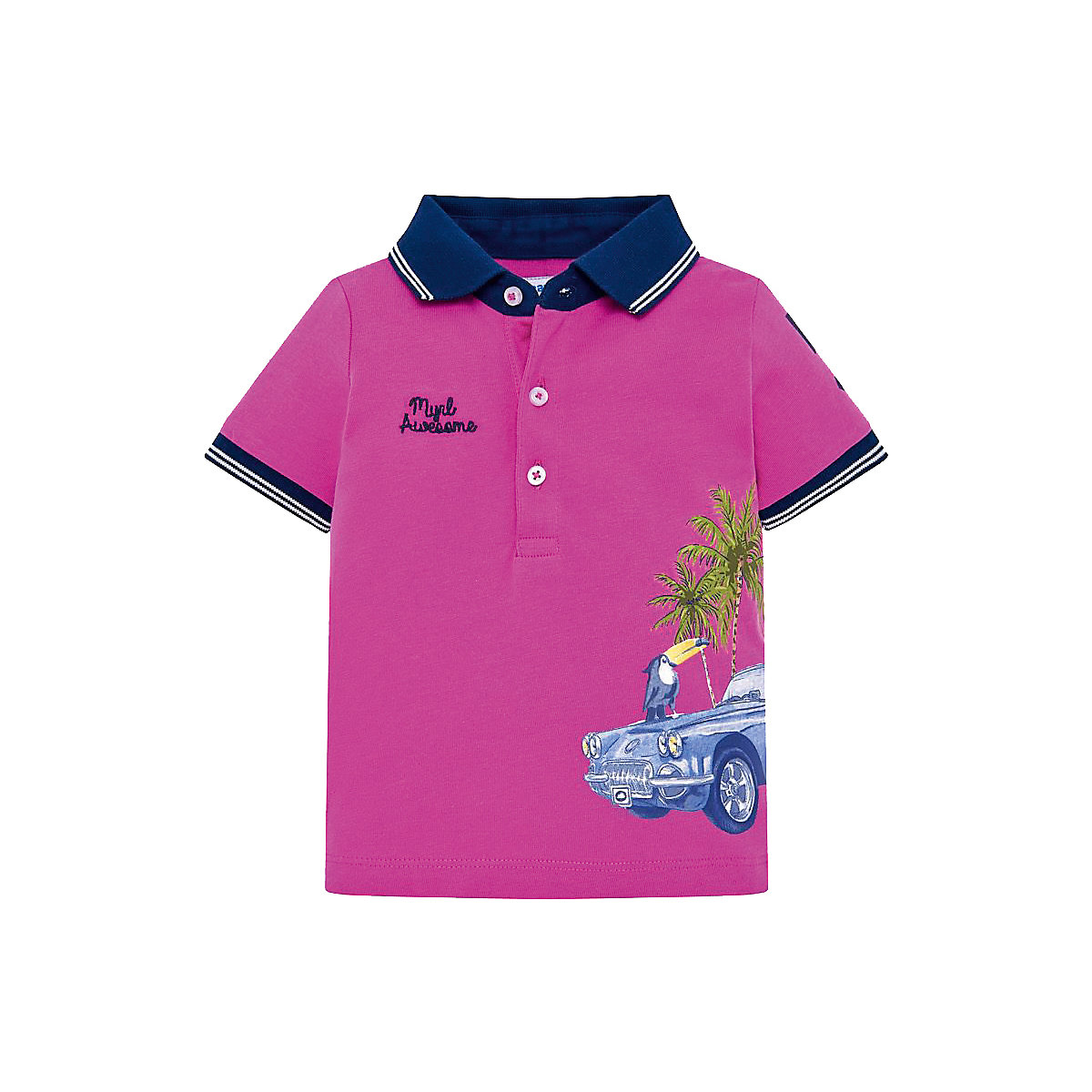MAYORAL Polo Shirts 10688762 children clothing t-shirt shirt the print for boys