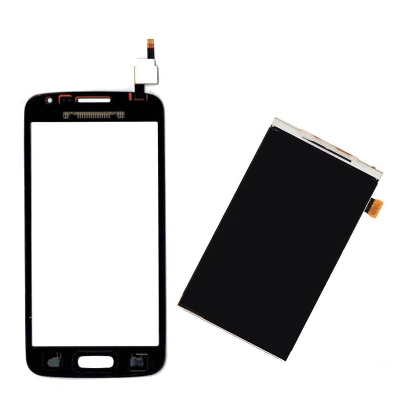 Black / White For Samsung Galaxy Express 2 SM-G3815 G3815 Touch Screen Digitizer Sensor Glass + LCD Display Screen Panel Monitor